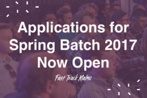 Apply for Fast Track Malmo Spring Batch 2017