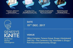Genesys IGNITE is hosting an event to support Startups in Southeast Nigeria.